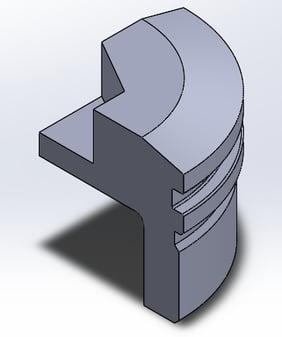 FEA_quartered-version-modeled-part